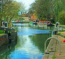 The Kennet and Avon Canal - Newbury  by Colin J Williams Photography