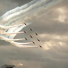 Red Arrows by qwerty123104