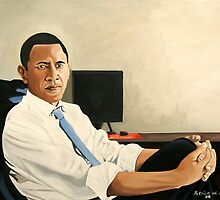 Obama Looking Presidential by patrickhunt