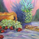 Pineapple Still Life by Richard Nowak
