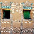 Nubian house, Egypt #4 by Mauricio Abreu