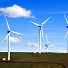 TAFF ELY WIND FARM WALES UK by kfbphoto