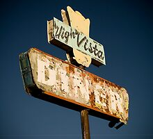 Hi-Vista Diner Sign by straycat88