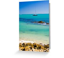 A perfect day in Robe Greeting Card