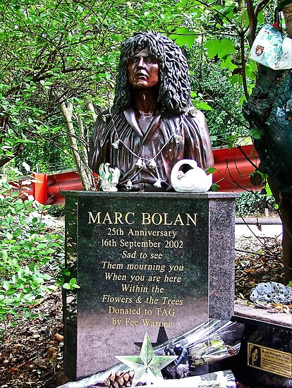 Marc Bolan - In Memory - Barnes by Colin J Williams Photography