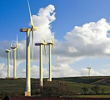 WELSH WIND FARM UK by kfbphoto