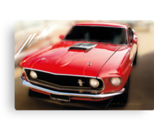 Mustang Original © Canvas Print