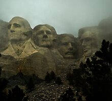 Mount Rushmore by WinfrithGraphic