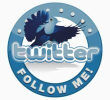 twitter - follow me by WinfrithGraphic