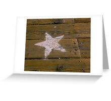 Star of the Boardwalk Greeting Card