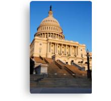 U. S. Capitol West Face  Canvas Print