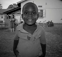 Child of a couple living in the area. Soroti Uganda by mikespringer