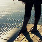 the beach  by kyndrafiasco