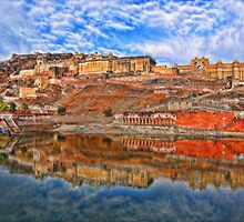 Amber Fort. India by vadim19
