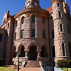 Wise County TX Courthouse Image 2 by plsphoto
