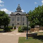 Somerville County TX Courthouse Image 1 by plsphoto