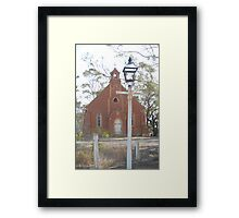 A light to the path of holyness Framed Print