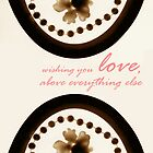 Card: Wishing You Love by amak