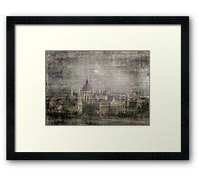 Faded Memories-Budapest Framed Print