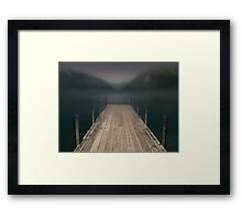 Shortly After The Dream Framed Print