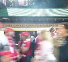 Sydney Swans SCG by frankiejean