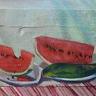 Watermelons by AgnesZirini