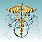 Native American Caduceus by John Guthrie