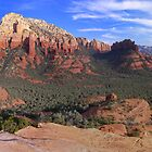 Sedona Red Rock Grandeur Panorama by Deborah Lee Soltesz