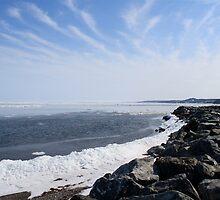 Spring Wakes Ocean by EliTynan