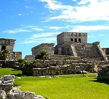 Tulum temples by triciamary