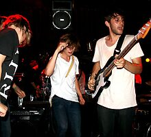 stage invasion feat. josh, gabe, ruby by Laura Owsianka