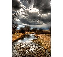 A Storm Approaches Photographic Print