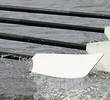 Rowing Oar by E L S Burnham