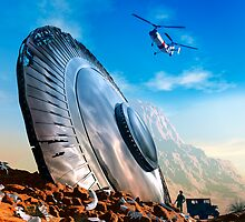 Arizona UFO crash by alextomlinson