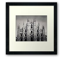 Santa Maria! by name and exclamation Framed Print