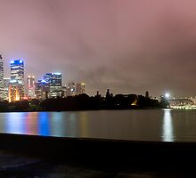 Sydney City @ Night by Darren Greenwell