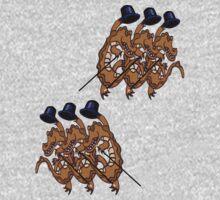 Crocky chorus line by goanna