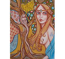 Nimue and Merlin Photographic Print