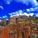 Saqsaywaman Ruins by Nicolas Raymond