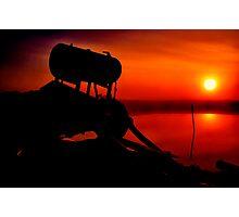 """""""The Shrouded Sunrise"""" Photographic Print"""