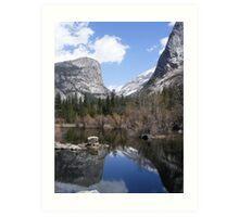 Mirror Lake ~ Yosemite National Park Art Print