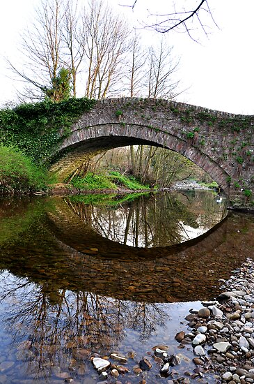 The Pack Horse Bridge at West Burton by Lindamell