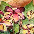 Vivian's Plumeria by Kimberly Kirk