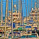Morning Masts II by Philip Golan