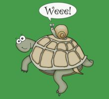 Snail on the fast-track! Kids Clothes