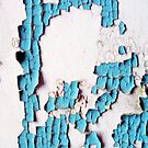 Breakdown of a Forgotten Blue Wall by Nicole Gesmondi