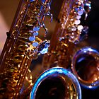 Blues Saxophone by Trev159