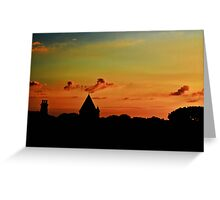 Last Light - Alderney Greeting Card