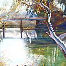 Goulburn Bridge II by Lynda Robinson