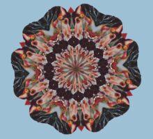 Carousel Horse Kaleidoscope T Shirt by SmilinEyes